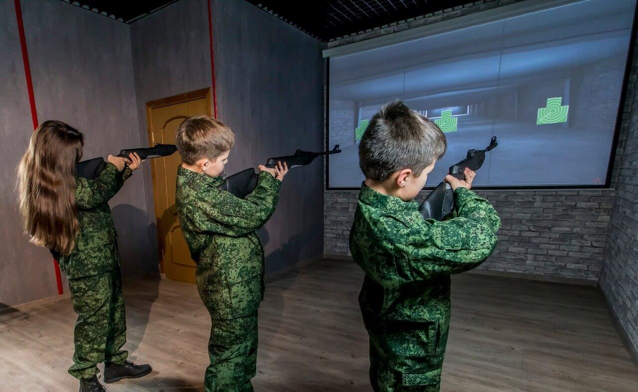 интерактивный тир для школы гто и образования ТИР ЭЛЕКТРОН